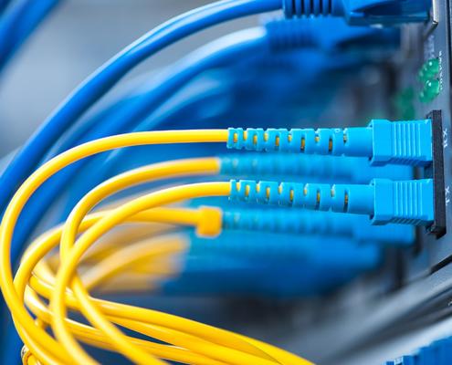 Raccordement fibre optique